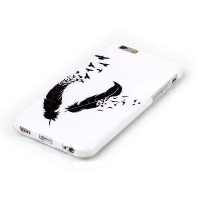 TPU‑skal med fjädrar, iPhone 6 Plus