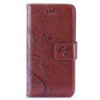 Plånboksfodral med kortplats brun, iPhone 6