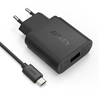 Aukey PA-U28 Quick Charge, 1xUSB väggadapter, 2.1A