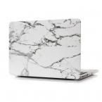 "Skal med marmor-motiv, MacBook Pro 15"" Retina, vit"