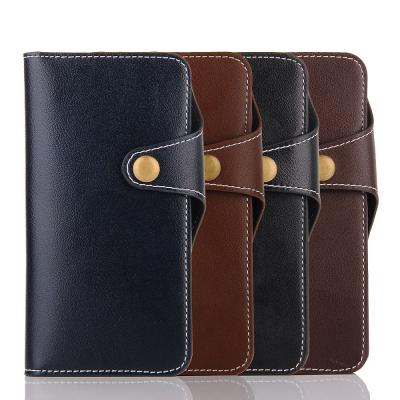 Plånboksfodral med kortplatser brun, iPhone 8/7