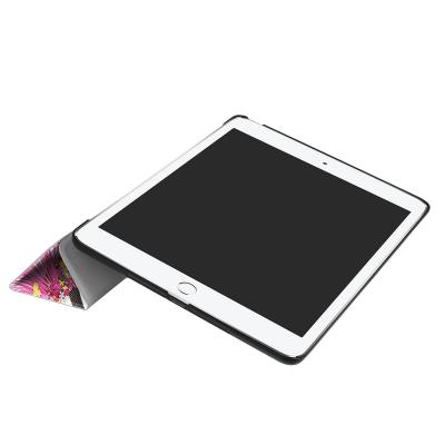 Läderfodral med ställ och mönster, iPad 9.7 (2017‑2018)