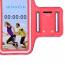 """Sportarmband för Smartphones universal upp till 5"""", röd"""