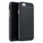 IPAKY Hybrid TPU skal till iPhone 6 Plus, svart