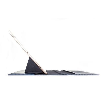 Läderfodral med ställ, iPad Pro 9.7, vinröd
