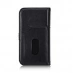 BRG läderfodral med ställ svart, iPhone X/XS