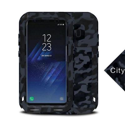 Love Mei skal med ram, kamouflage Samsung Galaxy S8