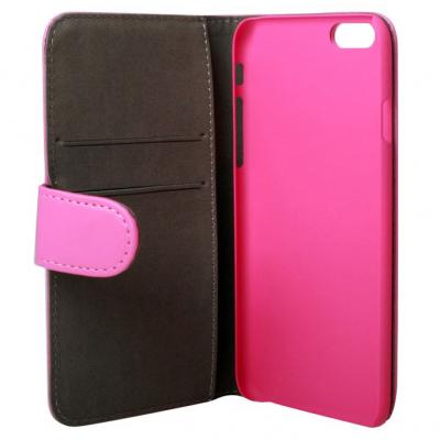 Gear plånboksväska rosa, iPhone 6