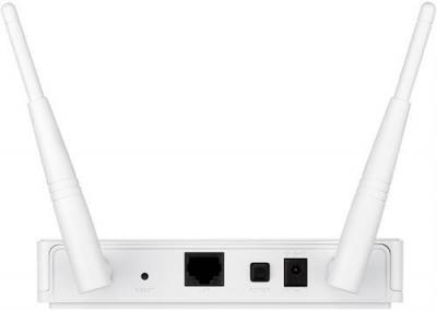 D‑Link AC1200 Dual Band Accesspunkt, vit