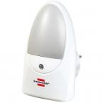 Brennenstuhl LED nattlampa med skymningssensor, vit