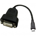 Accell Mini HDMI till DVI-D adapterkabel, 0.19m