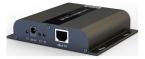 HDMI-förlängning över Ethernet, HDbitT, UHD, IR, 120m, svart