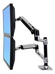 Ergotron LX Dual Stackning Arm för LCD-skärmar