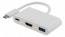 Deltaco USB‑C till HDMI och USB‑adapter, 60W