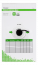 Deltaco installationskabel U/UTP Cat6, 250MHz, svart, 305m