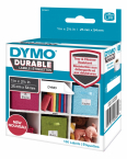 Dymo Durable small multi-purpose label, 160 etiketter , vit