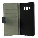 Gear plånboksfodral med kortplats svart, Samsung Galaxy S8