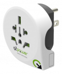Q2power jordad reseadapter, 10A, vit