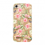 iDeal Fashion Case magnetskal till iPhone 8/7/6, Champagne Birds