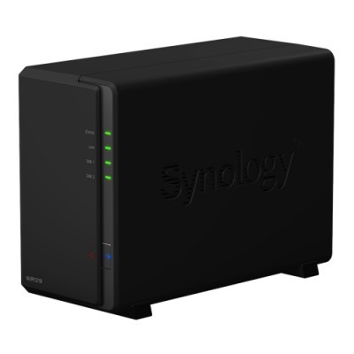 Synology Network Video Recorder NVR1218, 12 Channels, 1080p, USB