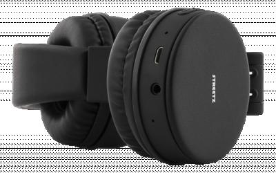 STREETZ Vikbara Bluetooth on‑ear hörlurar, mikrofon, v4.1 +EDR