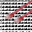 Deltaco nätverkskabel U/UTP Cat6, flat, 0.3m, 250MHz, röd