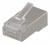 Deltaco RJ45 kontaktdon för patchkabel, Cat6a, skärmad, 20-pack