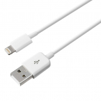 Lightningkabel 1m till iPhone/iPad, vit
