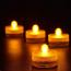 Vattentäta LED‑teljus för badkaret eller poolen, 0.2W, 10st