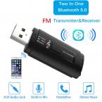 FM-sändare, Bluetooth 5.0-handsfree, 3.5mm