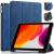 DG.MING Retro Style fodral till iPad 10.2 (2019-2020), blå