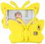 Fjärilsformat barnfodral, Samsung Tab A 8.0, gul