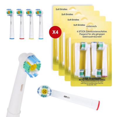 16‑pack Oral‑B kompatibla tandborsthuvuden EB‑18A, 3D White