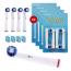 16‑pack Oral‑B kompatibla tandborsthuvuden SB‑20A, Mjuka Dupont