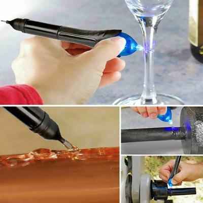5 sekunders Fix, UV‑lim, flytande plast som härdar