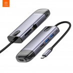 McDodo CA-773 8-i-1 Mångsidig USB-hubb för MacBooks, 100W