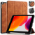 DG.MING Retro Style fodral till iPad 10.2 (2019-2020), brun
