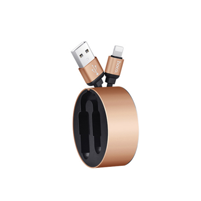 Hoco U23 lightning snabb laddningskabel iPhone/iPad, guld