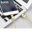 Hoco micro USB Shadow Knight LED, 1.2m, guld 1