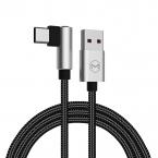 Mcdodo CA-3451 USB-C, 90 grader 1m, silver