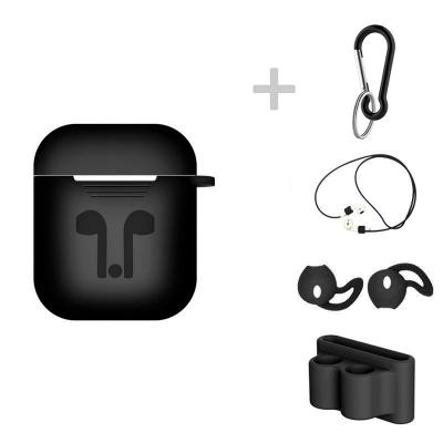 Skyddskit för Apple Airpods, svart