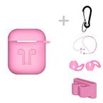Skyddskit för Apple Airpods, rosa