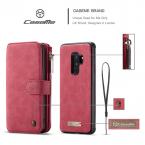 CaseMe plånboksfodral magnetskal, Samsung Galaxy S9 Plus, röd