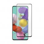 DELTACO skärmskydd i härdat glas till Samsung A51