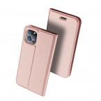 DUX DUCIS Skin Pro Series läderfodral till iPhone 11 Pro, rosa