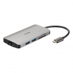 8-in-1 USB-C Hub with HDMI/Ethernet/Card Reader/Power Delivery