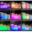 Färgskiftande LED‑ljus med fjärrkontroll, AAA