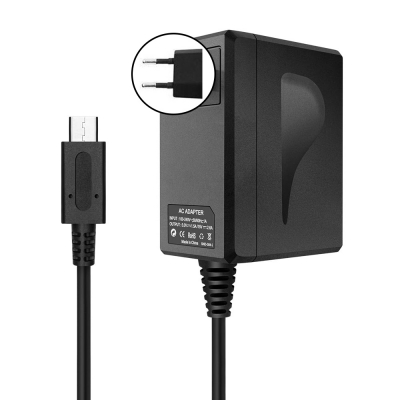 AC‑adapter till Nintendo Switch / Switch Lite + dockningsstation