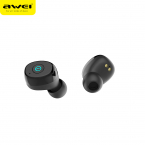 AWEI T85 In-Ear trådlös Bluetooth 5.0 1800mAh Power bank