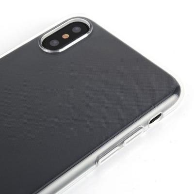 Transparent TPU skal, iPhone XS Max